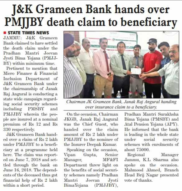 J&K Grameen Bank - Engendering Empowerment